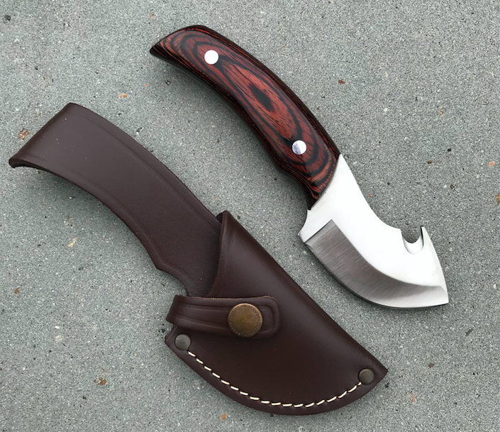 Dolk - Cudeman jagtkniv med bugåbner