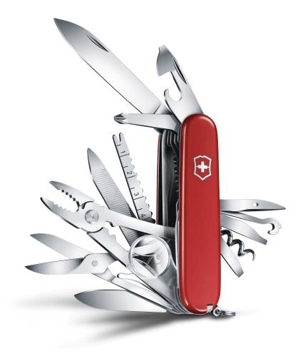 Dolk - Swiss champ er den største schweizerkniv