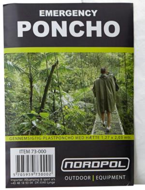 Dolk - engangs poncho