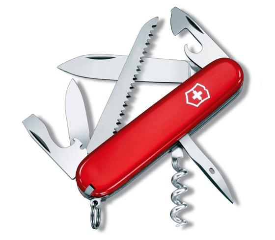 Dolk - Schweizerkniv model Camper - kan også leveres med indgraveret campinglogo