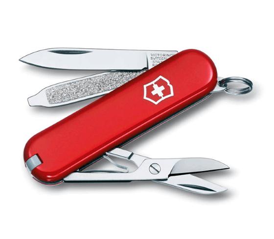 Dolk - Schweizerkniv lommekniv med saks