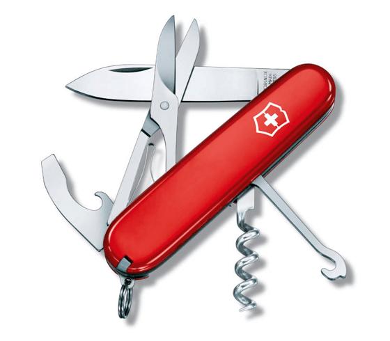 Dolk - Lommekniv med saks og proptrækker
