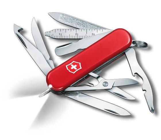 Dolk - Lommekniv med lygte