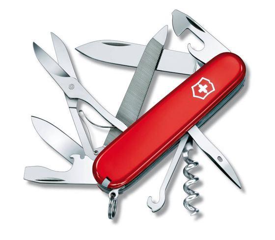 Dolk - Schweizerkniv lommekniv med proptrækker og saks